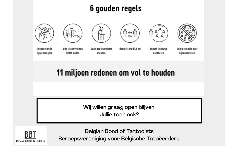 Veilige heropstart tattoosector