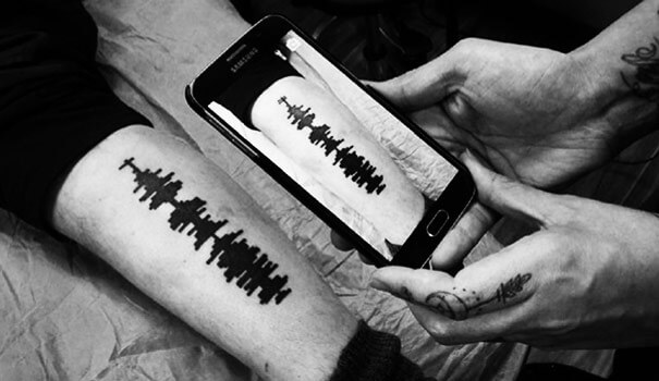 Soundwaves Tattoo