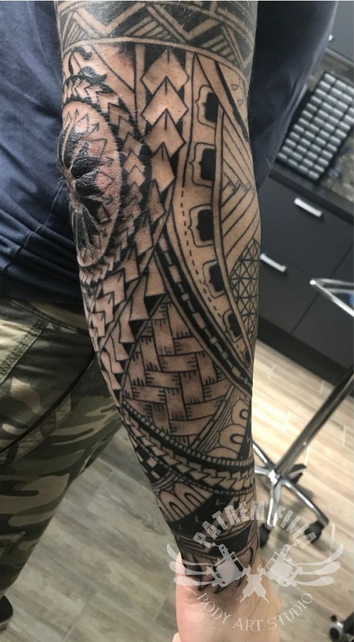 3/4 Sleeve Tattoeages